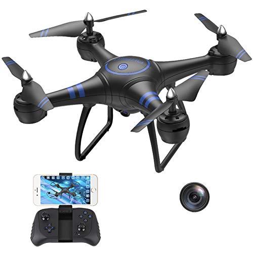 AKASO A31 Drone con videocamera, Quadricottero Telecomando Live...