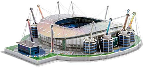 WPLHH Paper 3D Puzzles,Manchester City Fc Etihad Stadium Building Sets 3D Construction Toys Model Kits,Educational Toy for Kids and Adults,Gift for Boys and Girls