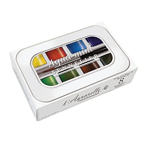 Sennelier French Artists' Watercolor Set, Multicolor