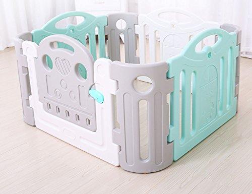 YHDD Barrière de bébé isolement Jouet intérieur Protection sécurité bébé Jouer clôture bébé barrière bébé Cage