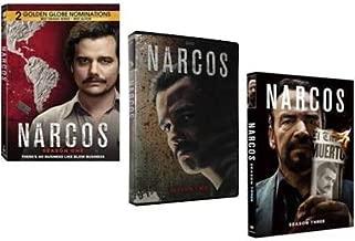 Narcos: 3 Complete Seasons (Season One / Season Two / Season Three) [DVD]