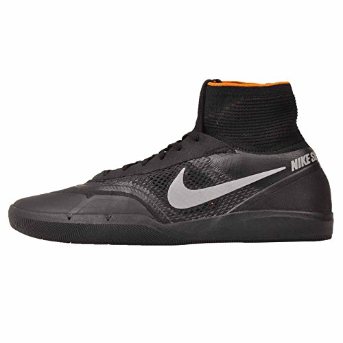 Nike Air Zoom SB Hyperfeel Eric Koston 3 XT Sneaker Shoes Black/Silver/Orange, EU Shoe Size:44 EU, Color:Black