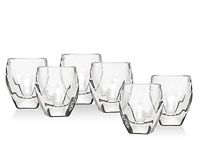 Godinger Shot Glasses Shooters, Party Glasses - 1.5oz, Set of 6