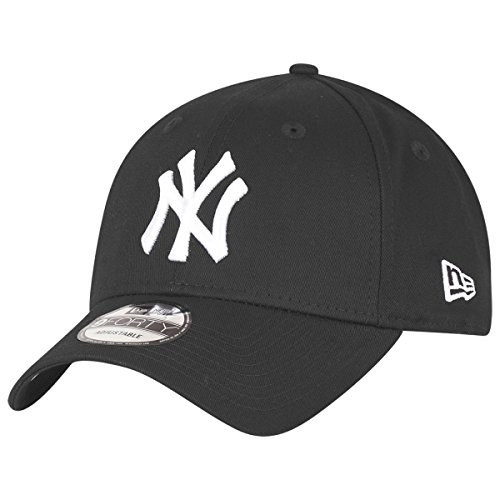 New Era 9Forty Cap - New York Yankees schwarz/weiß