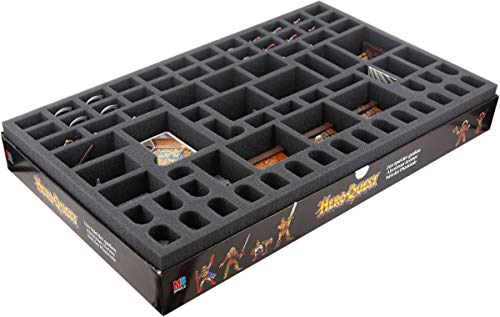 Feldherr Foam Tray Set Compatible with HeroQuest Board Game Box