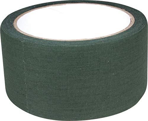 Web-tex - Textil-Tarnklebeband - äußerst strapazierfähig - 10 m - Olivgrün