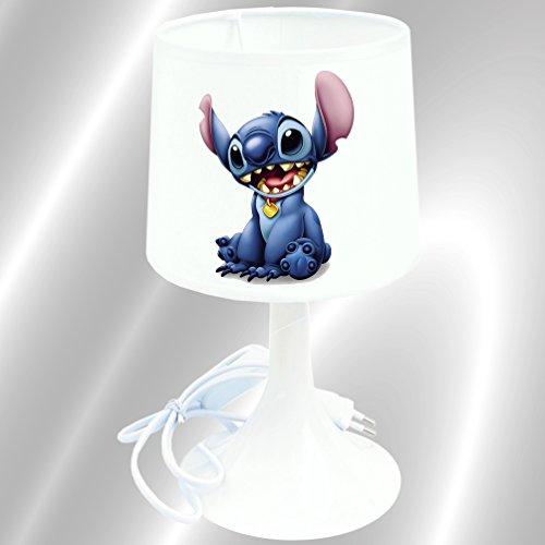 Lampe de chevet de création - Lampe à poser enfant - Stitch