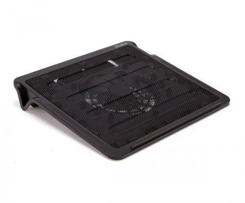Zalman ZM-NC2 Almohadilla fría 40,6 cm (16') Negro - Base de refrigeración (40,6 cm (16'), 1 Pieza(s), 14 cm, 800 RPM, Negro, Caucho)
