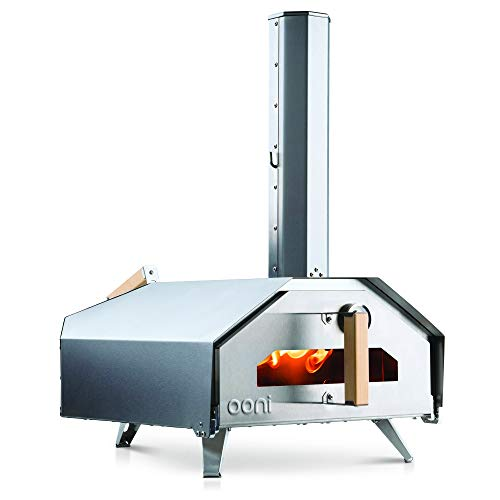 Ooni Pro – Wood, Charcoal and Gas Fired Outdoor Pizza Oven – Award Winning Pizza Maker - Ideal Addition for Any Garden Space