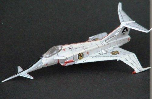 Sélection Konami SF Film Captain Scarlet Ange Interceptor (1 places intercepteur combattant) séparément