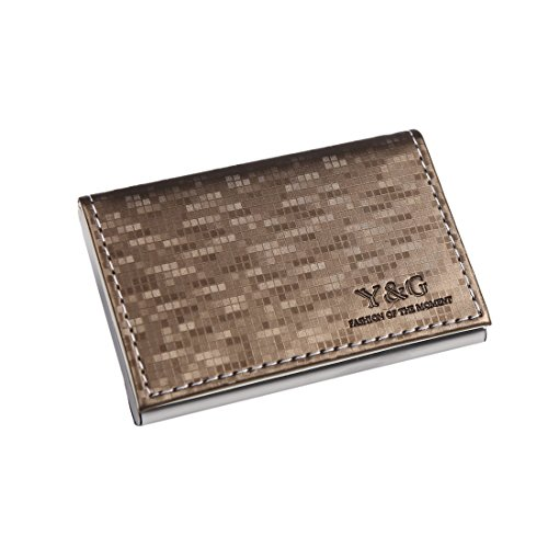 YDC05 Best Business Card Holder Artificial Leather Card Case Excellent Designer By Y&G