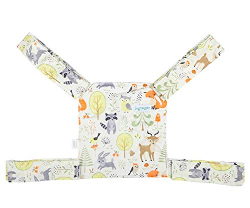 Sigzagor Baby Doll Carrier Mei Tai Sling Mini Carrier Birthday Christmas Gift (Baby Deer)
