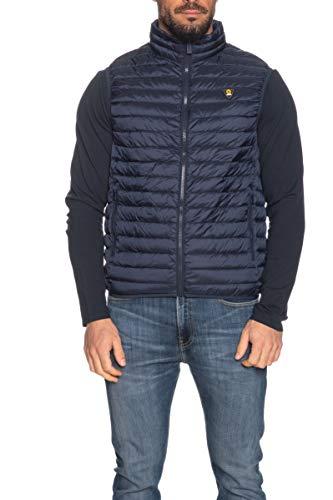 CIESSE PIUMINI Gilet Modello Melvin - Light Down Fullzip Vest 205 Uomo (56, Blu)