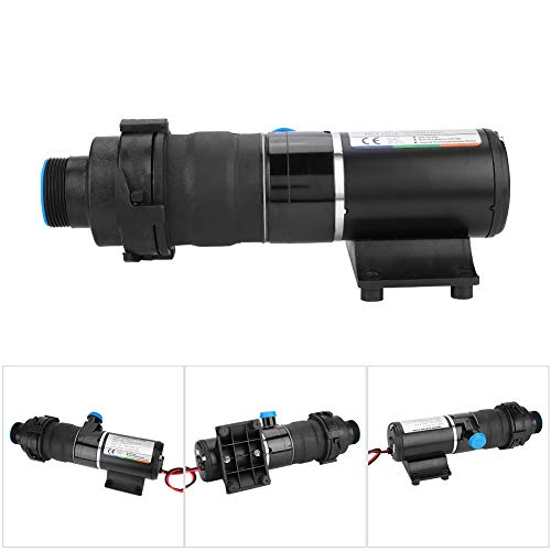 Zerone Macerator Pump, DC12V RV Mount Macerator Waste Water with Pump 45 LPM 12 GPM Open Folw for Camper Boat Kitchen Industry