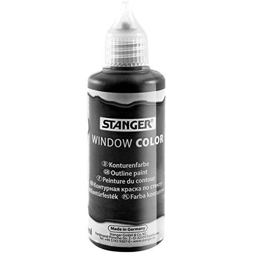 Stanger 300016 WC 80ml Kontur schwarz 6 Fl/VK