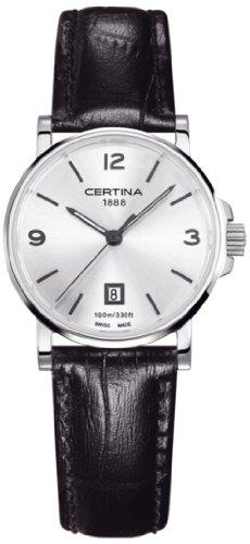 Certina Certina DS Caimano C017.210.16.037.00 C017.210.16.037.00 - Reloj para Mujeres, Correa de Cuero Multicolor