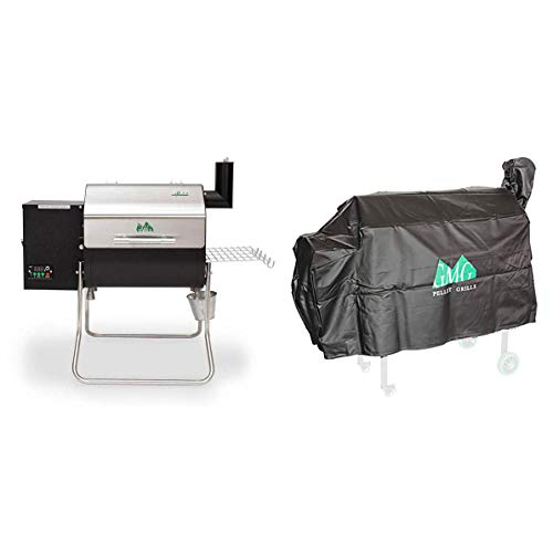 Green Mountain Davy Crockett Wifi Portable Wood Pellet Electric Grill with...