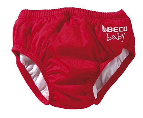 Beco Unisex-Baby Aqua-Windel Slipform mit Gummibündchen, Schwimmhilfe, Rot (Red/5), L (12-18 Monate)