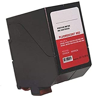 Neopost ISINK34 - 90 Day Warranty - Compatible Surejet #4135554T Red Ink Cartridge for IS / IN Series Mailing Systems