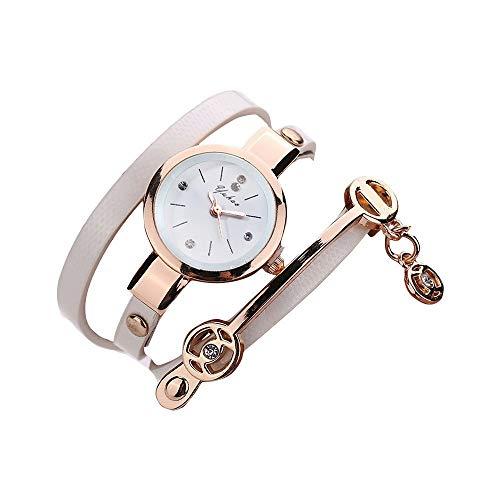 Armbanduhr Damen Uhren Schmuck Quarzuhr Analog Edelstahlarmband Muttertagsgeschenk Geburtstagsgeschenk Mode Frauen Mädchen Damen Metallarmbanduhr