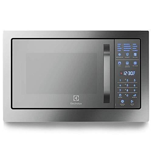 Micro-Ondas de Embutir, com Função Grill e Painel Blue Touch, com Frontal Espelhado (MB38T) 127V