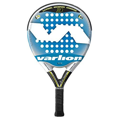 Varlion LW Carbon 3 Palas, Adultos Unisex, Azul, 355-360 gr