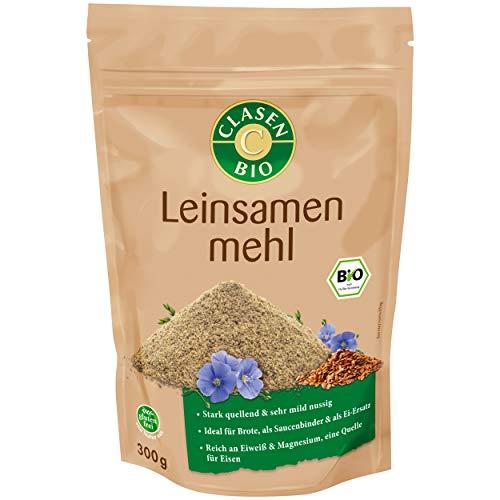 CLASEN BIO Leinsamenmehl, low carb, glutenfrei und vegan - 300 g