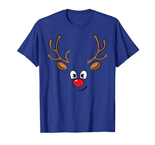 Reindeer - Fun Red-nosed Reindeer Christmas T-Shirt