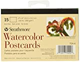 Strathmore Blank Watercolor Postcards pad of 15 (Package May Vary) (4)
