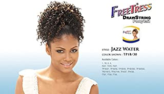 Shake-N-Go FreeTress Synthetic Hair PonyTail - Jazz Water (Color: TP1B/27)