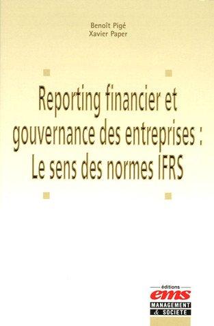 Reporting financier et gouvernance des entreprises