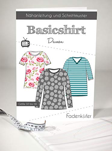 Schnittmuster und Nähanleitung - Damen Shirt - Basicshirt