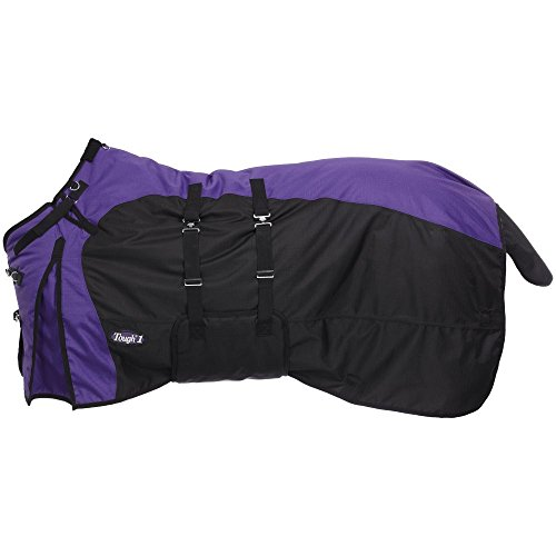 Tough-1 1200D Turnout Belly Wrap Horse Blanket Purple(10) 72