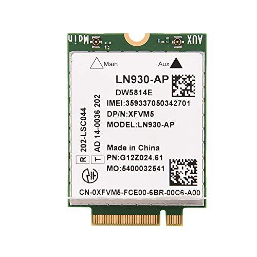 Diyeeni 4G WWAN Modul PCI Express Mini Card/Karte 50-150Mbps, Professionelle 4G NGFF WWAN M.2 Karte LTE/DC-HSPA +, Unterstützt GNSS & A-GPS