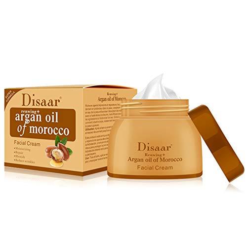 DISAAR BEAUTY Face Cream Argan Oil Of Morocco Moisturizing Repair Blemish Reduce Wrinkles Facial Skin Care Reawing+ Super Formula 50g