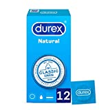 Durex Preservativos Originales Naturales Natural Plus - 12 Condones