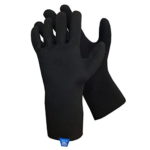 Glacier Glove ICE BAY Fishing Glove, Black, X-Small