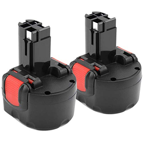 [2 Stück]Dosctt 9.6V 3.0Ah Ni-MH Ersatzakku für Bosch PSR 960 BAT048 BAT100 BAT119 2607335272 2607335461 Gsr 9.6VE-2 PSR 9.6VE-2 PSR960 23609 32609-RT