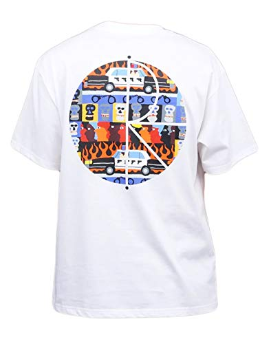Polar Skate & Co. T-Shirt Limited Edition Weiß Neuheit 2021, Weiß Small