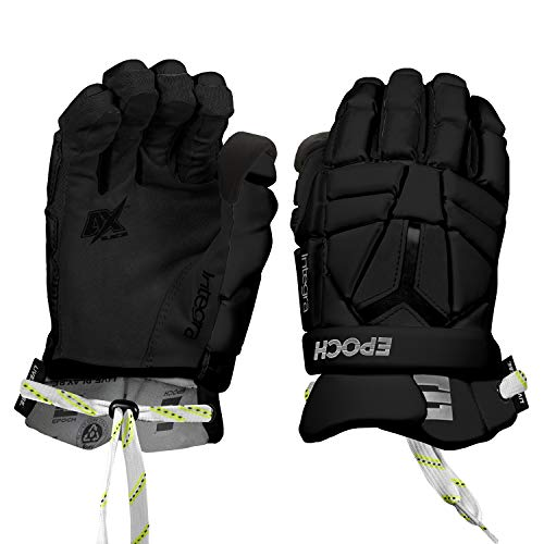 Epoch Integra Pro Lacrosse Gloves for Goalies with Dual-Density Foam and Adjustable Wrist, 13
