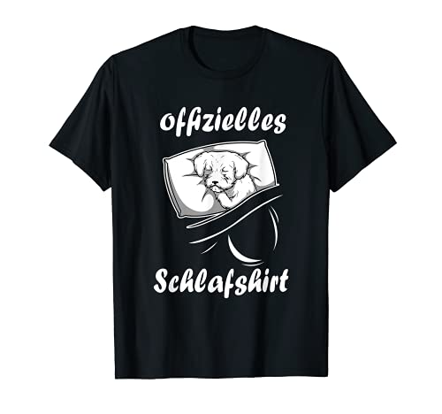 Offizielles Schlafshirt Oberteil Malteser T-Shirt