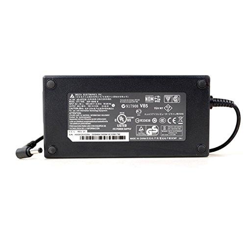 Delta Electronics Cargador para portátil Compatible con ADP-180MB MSI 180W GS73V GT60 GT70 GS60 GS70 GS63VT GE62 GE72 GS43VR Gaming 19,5V 9,23A 180W