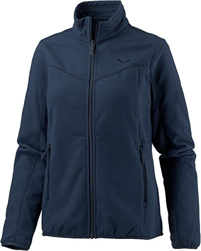 Salewa Fanes Pl W FZ Sweat-Shirt, Femme, 00-0000025974, Blu (8670 Dark Denim), 48/42