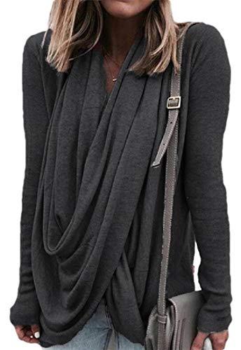 pipigo Womens Hooded Sport Pocket Camouflage Casual Pullover Sweatshirt