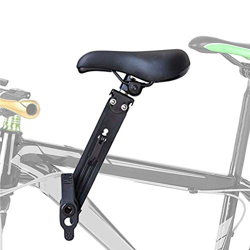 HUHN Seggiolino per bici per bambini, Seggiolini per bici montati anteriormente per bambini, Portabimbo montato su bicicletta / Seggiolino per bici, Seggiolino per mountain bike rimovibile compatibile