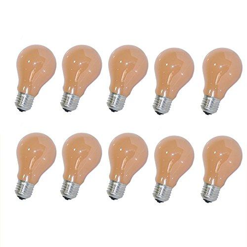 10 x Glühbirne Softone Flame Terracotta 25W E27 Glühlampe 25 Watt Glühbirnen Glühlampen
