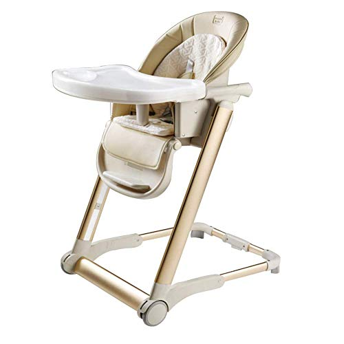 Silla de bebé Plegable portátil para Silla de bebé, Andador Ajustable para niños, Silla de alimentación para Restaurante