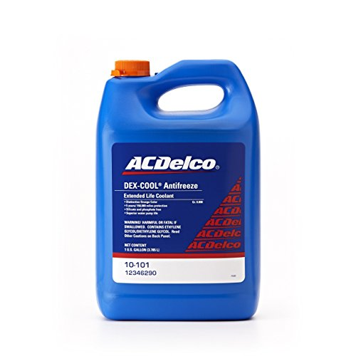 ACDelco 10-101 DEX-COOL Extended Life Coolant - 1 Gallon