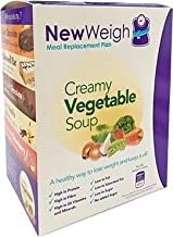 NewWeigh Creamy Vegetable Meal Replacement Soup 7 x 60g sachets – Suitable for Vegetarians – High Fibre High Protein Estimated Price : £ 11,25