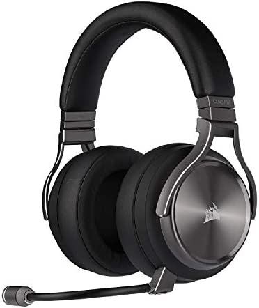 Corsair Virtuoso RGB Wireless SE Gaming Headset High Fidelity 7 1 Surround Sound w Broadcast product image